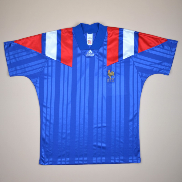 best sneakers 7f409 11bc6 France 1992 - 1994 Home Shirt (Excellent) L