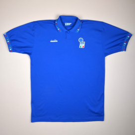 Italy 1992 - 1993 Home Shirt (Excellent) XL