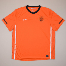 Holland 2010 - 2011 Home Shirt (Excellent) XL