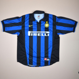 huge sale 06b38 0f62e Inter Milan Classic Football Shirts | Vintage Sports Fashion