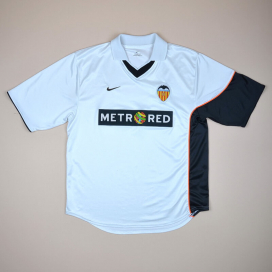 Valencia 2001 - 2002 Home Shirt (Good) L