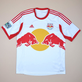Red Bull New York 2013 - 2014 Home Shirt (Very good) L