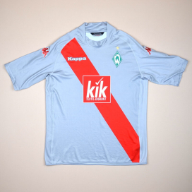 Werder Bremen 2005 - 2006 Away Shirt (Excellent) XL
