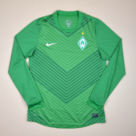 Werder Bremen 2011 - 2012 Player Issue Home Shirt (Very good) L