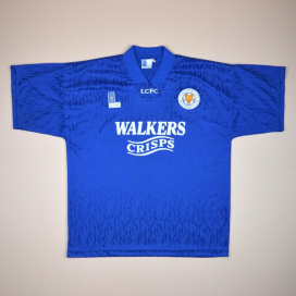Leicester 1992 - 1994 Home Shirt (Very good) XL