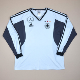 Germany 2000 - 2002 Player Issue Training Shirt (Very good) XL