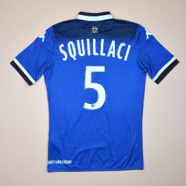 Bastia 2015 - 2016 Home Shirt #5 Squillaci (Excellent) S