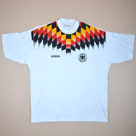 Germany 1994 - 1996 Cotton Training Shirt (Very good) XL