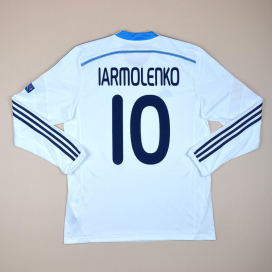 Dynamo Kiev 2014 - 2015 Match Issue Home Shirt #10 Iarmolenko (Excellent) L