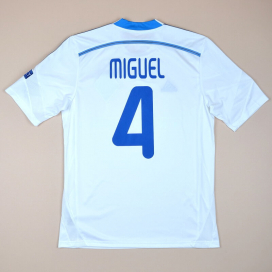 Dynamo Kiev 2015 - 2016 Match Issue Champions League Home Shirt #4 Miguel (Excellent) M
