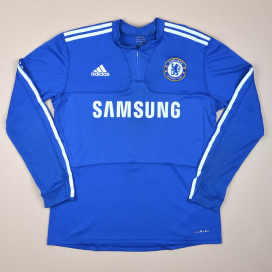 Chelsea 2009 - 2010 Player Issue Formotion Home Shirt (Very good) L