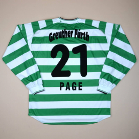 Greuther Furth 2004 - 2005 Signed Home Shirt #21 Page (Very good) XXL
