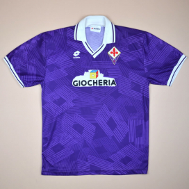 Fiorentina 1993 - 1994 Home Shirt (Very good) XL
