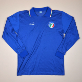 new arrival c6fc5 8b3b8 Italy National Team Classic Football Shirts | Vintage Sports ...