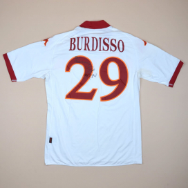 Roma 2010 - 2011 Match Issue Signed Away Shirt #29 Burdisso (Very good) L
