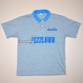 Italy 1990 Training Shirt (Excellent) L