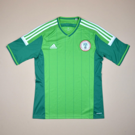 Nigeria 2014 - 2015 Home Shirt (Very good) M