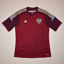 Russia 2014 - 2015 Home Shirt (Excellent) S