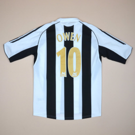 Newcastle 2005 - 2007 Home Shirt #10 Owen (Very good) S