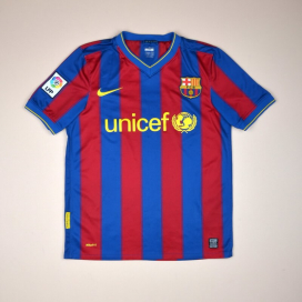 Barcelona 2009 - 2010 Home Shirt (Good) S