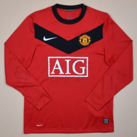 Manchester United 2009 - 2010 Home Shirt (Good) S