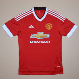 Manchester United 2015 - 2016 'BNWT' Home Shirt (New with tags) S