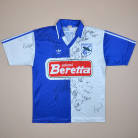Grasshoppers 1992 - 1994 'Signed' Home Shirt (Very good) S