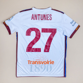 Servette 2018 - 2019 Match Issue Away Shirt #27 Antunes (Very good) L