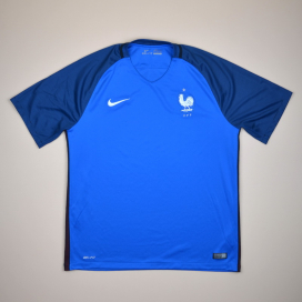France 2016 - 2017 Home Shirt (Excellent) S