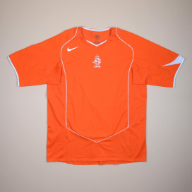 Holland 2004 - 2006 Home Shirt (Very good) XL