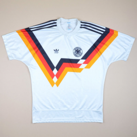 Germany 1990 - 1992 Home Shirt (Very good) L