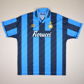 huge sale f9f2f 8463c Inter Milan Classic Football Shirts | Vintage Sports Fashion