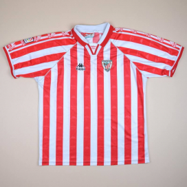 Athletic Bilbao 1996 - 1997 Home Shirt (Very good) XL