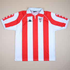 Athletic Bilbao 1998 - 1999 Home Shirt (Very good) XL