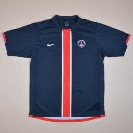 Paris Saint-Germain 2006 - 2007 Home Shirt (Very good) XL