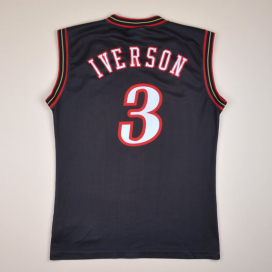Philadelphia 76ers 2000 NBA Basketball Shirt #3 Iverson (Very good) M