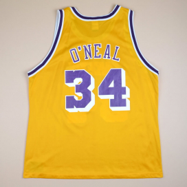 Los Angeles Lakers 2000 NBA Basketball Shirt #34 O`Neal (Very good) XXL
