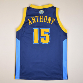 Denver Nuggets 2000 NBA Basketball Shirt #15 Anthony (Very good) S