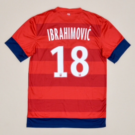 Paris Saint-Germain 2012 - 2013 Away Shirt #18 Ibrahimovic (Good) S