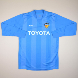 Valencia 2007 - 2008 Player Issue Goalkeeper Shirt (Very good) L