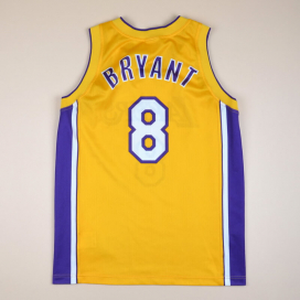 Los Angeles Lakers 2000 NBA Basketball Shirt #8 Bryant (Very good) M
