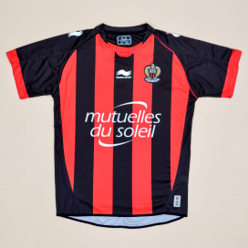 OGC Nice 2013 - 2015 Home Shirt (Very good) XL