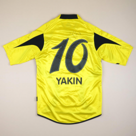 BSC Young Boys 2006 - 2007 Signed Home Shirt #10 Yakin (Good) S