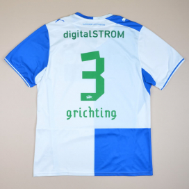 Grasshoppers 2013 - 2014 Home Shirt #3 Grichting (Very good) XXL