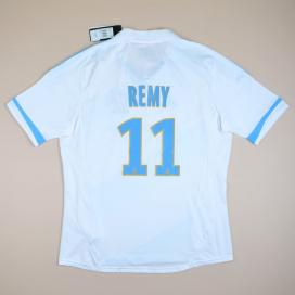 Olympique Marseille 2011 - 2012 'BNWT' Home Shirt #11 Remy (New with tags) XL