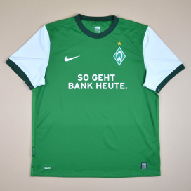 Werder Bremen 2009 - 2010 Home Shirt (Very good) XL