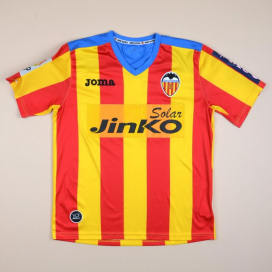 Valencia 2012 - 2013 Away Shirt (Very good) YL