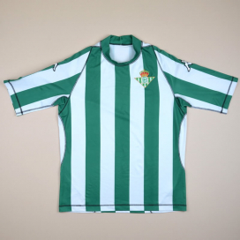 Real Betis 2003 - 2004 Home Shirt (Very good) XL