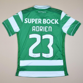 Sporting Lisbon 2015 - 2016 Home Shirt #23 Adrien (Excellent) M