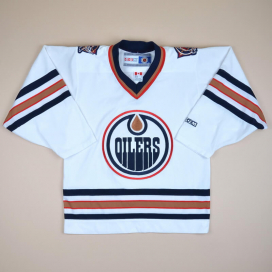 Edmonton Oilers 2000 NHL Hockey Shirt (Excellent) S